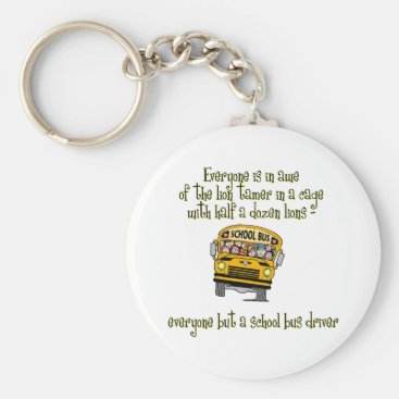 Toddler & Baby themed Bus Drivers Keychain