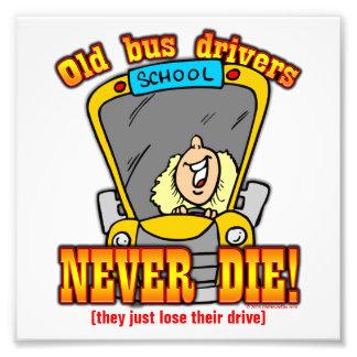 Bus Drivers Photo Print