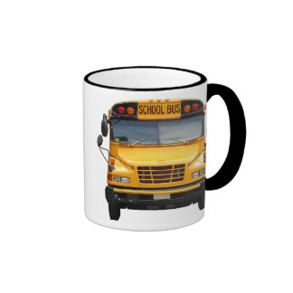 Bus Front and Back Ringer Coffee Mug