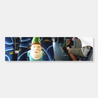 Bus Gnome Bumper Sticker