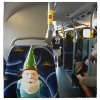 Bus Gnome Napkin