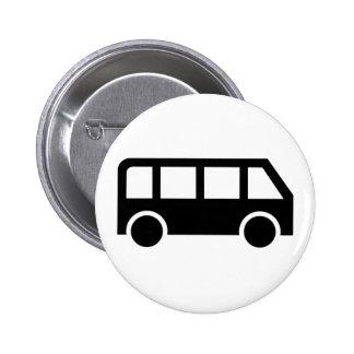 Bus icon button