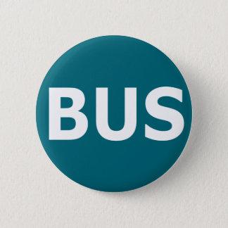BUS logo - Blau Pinback Button