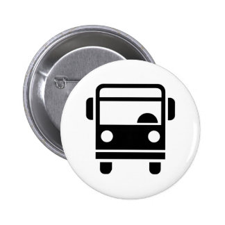 Bus Pinback Button