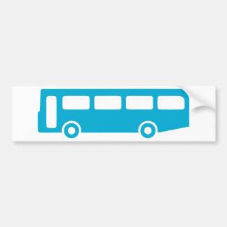 bus school car bumper sticker