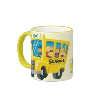 Bus school - mug