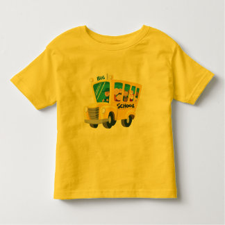 Bus school - toddler t-shirt