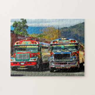 Bus Station Antigua. Jigsaw Puzzle