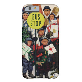 Bus Stop at Christmas iPhone 6 Case