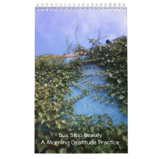 Bus Stop Beauty - A Morning Gratitude Practice Wall Calendar