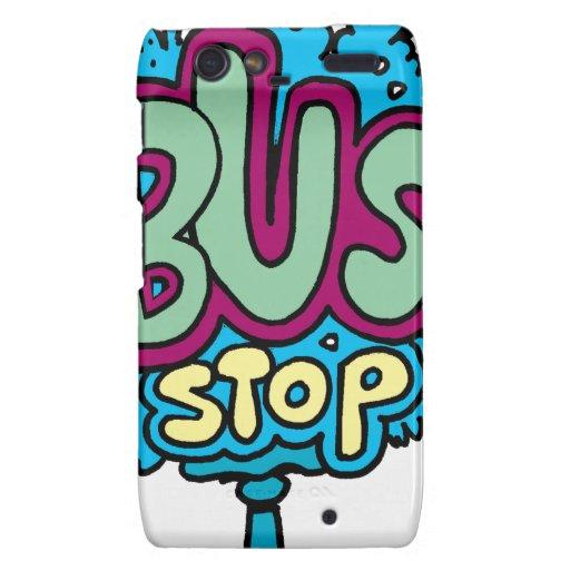 Bus Stop Bird Motorola Droid RAZR Covers