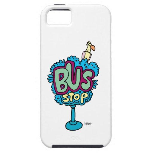 Bus Stop Bird iPhone 5 Covers