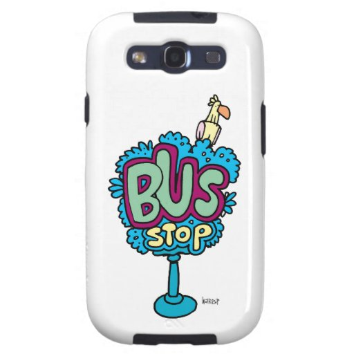 Bus Stop Bird Samsung Galaxy S3 Covers