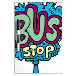 Bus Stop Bird Dry-Erase Whiteboards