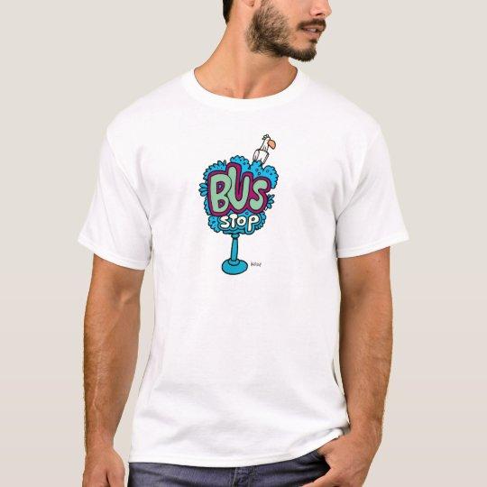 Bus Stop Bird T-Shirt