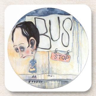 Bus Stop Drink Coaster