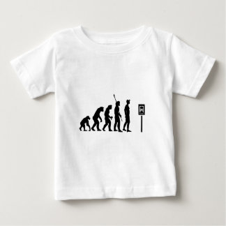 Bus Stop Evolution Baby T-Shirt