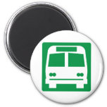 Bus Stop Highway Sign Magnet