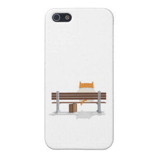 Bus Stop Kitty iPhone 5/5S Covers