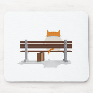Bus Stop Kitty Mouse Pad