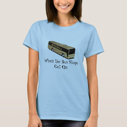 Bus Stop Shirt-Womens T-Shirt