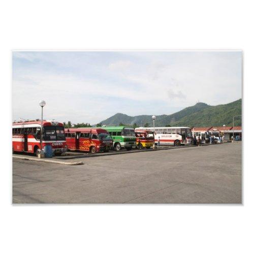Bus terminal, Tacloban City, Philippines