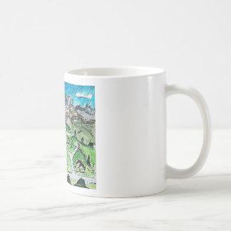Bus Trail Classic White Coffee Mug