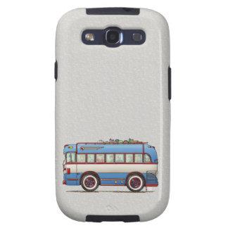 Bus turístico lindo del autobús samsung galaxy s3 cobertura