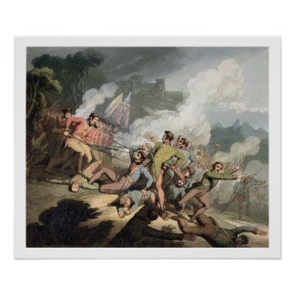 Busaco, 27th September 1810, from 'The Victories o Poster