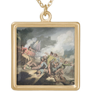Busaco, 27th September 1810, from 'The Victories o Square Pendant Necklace