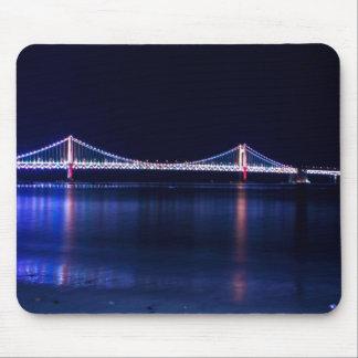 Busan Beach Gwangalli Bridge Mouse Pad