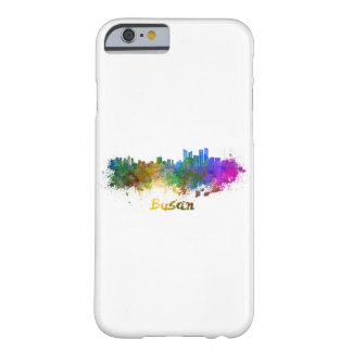 Busan skyline in watercolor barely there iPhone 6 case