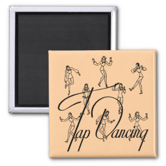 Busby, Classic Tap T-shirts & Gifts 2 Inch Square Magnet