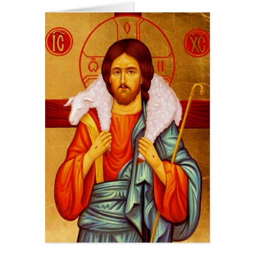 Buscador de Jesús de ovejas perdidas Tarjeta De Felicitación