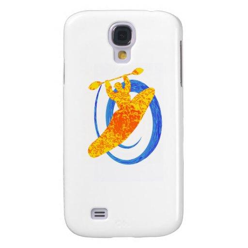 Buscador de Sun del kajak Funda Para Galaxy S4