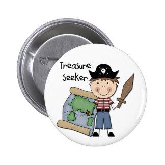 Buscador del tesoro - camisetas y regalos del pin