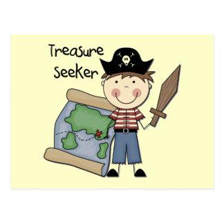 Buscador del tesoro - camisetas y regalos del postal
