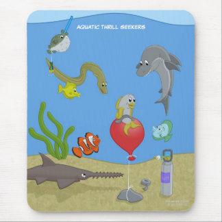 Buscadores acuáticos Mousepad de la emoción Alfombrillas De Raton