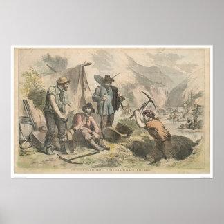Buscadores de oro de California (2525A) Póster