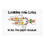 Buscando amor en todos los alelos derechos (DNA) Papeleria De Diseño