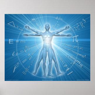 Buscar la ecuación para la humanidad póster