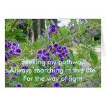 Buscar mi camino felicitación
