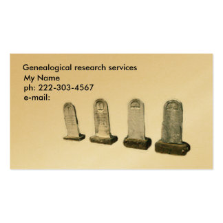 BusCard - headstones Business Card