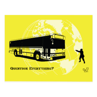 Bused - Question Everything 002 Postcard