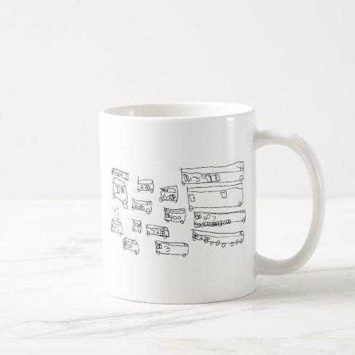 Buses Classic White Coffee Mug