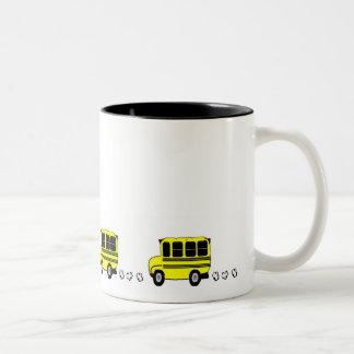 Buses Two-Tone Coffee Mug
