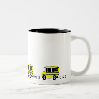 Buses Two-Tone Coffee Mug