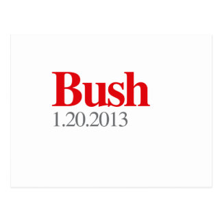 BUSH 1-20-2013 POSTCARD
