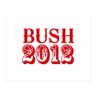 BUSH 2012 T-SHIRT POSTCARD