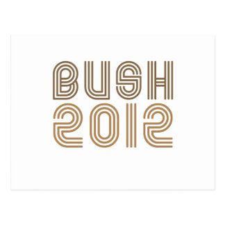 BUSH 2012 (Vintage) Postcard